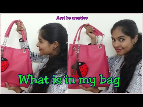 What is in my bag| India| Daily Essentials