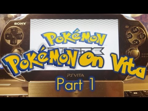 How to play Pokemon Black on your PS Vita| Part 1