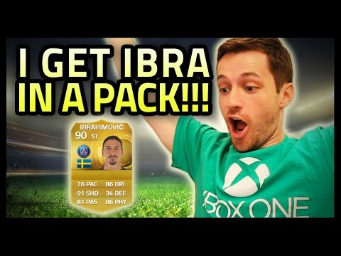 IBRAHIMOVIC PACK OPENING!!! - FIFA 15 Ultimate Team