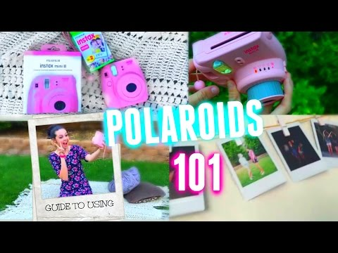 Fujifilm (Polaroid) Camera How to use + Review!
