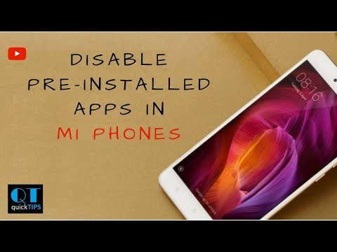 How to Disable Pre-installed Apps in Redmi Note 5 | Redmi Note 4 [2018]