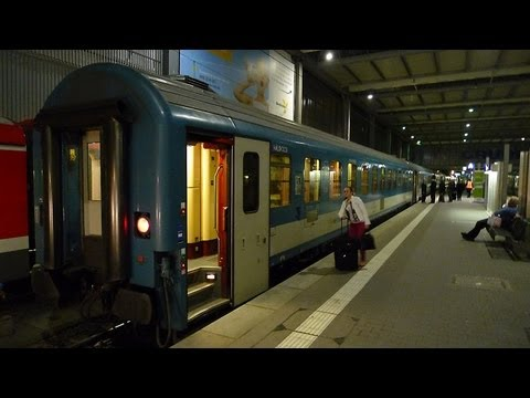By sleeping-car from Munich to Budapest