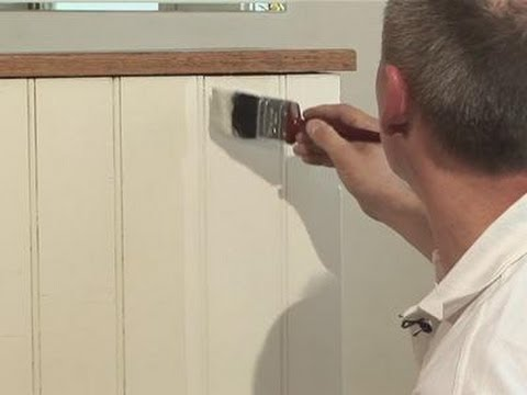 How To Paint Your Paneling