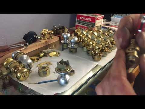 Half a Doorknob - Schlage Communicating Knob A79PD