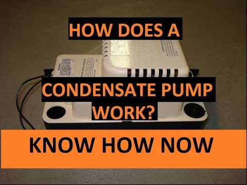 How a Condensate Pump Works