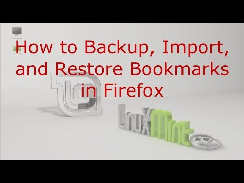 How to Backup, Import, and Restore Bookmarks in Firefox - Franks Helpdesk