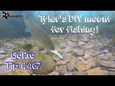 GoPro Fishing DIY Base Mount - GoPro Tip #467