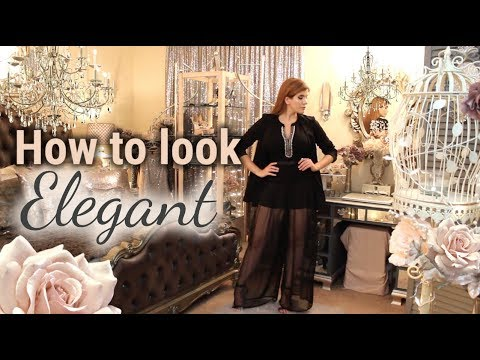 How to Dress Elegantly - Part #1 - Brazilian Chic Women Fashion Lookbook