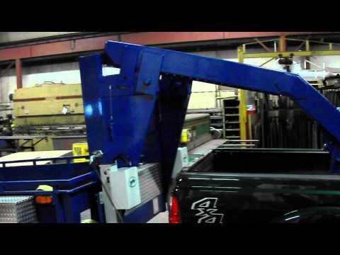 24'  Gooseneck trailer power tilt modification