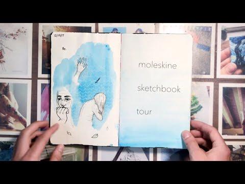 MOLESKINE SKETCHBOOK TOUR | 2017 - 2018