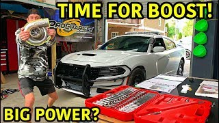 Rebuilding A Wrecked 2018 Dodge Charger Police Car Part 11