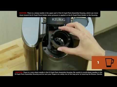 How To Clean Your Keurig Brewer Needles & K-Cup Pack Holder