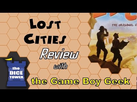 Lost Cities Review - with the Game Boy Geek