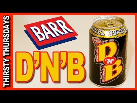 D'N'B - Dandelion and Burdock from Barr Review - Thirsty Thursdays