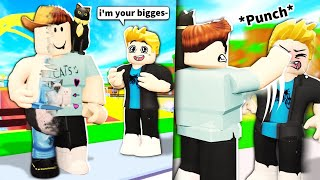 I used ADMIN to become Roblox YouTubers and was mean to their fans