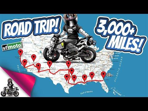 I'm Riding a Honda Grom Across the USA!