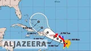 Category 5 Hurricane Maria threatens 'disastrous damage' in the Caribbean