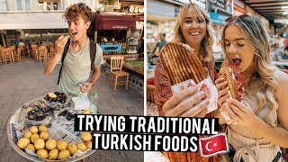 We Tried Traditional Turkish Foods in Canakkale & Ayvalik
