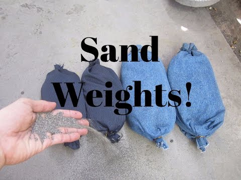 Making a Sand Weights
