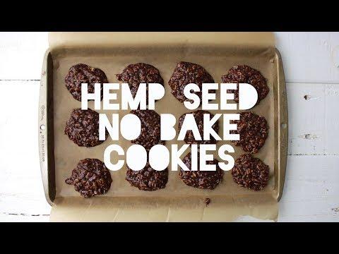 Hemp Seed No-Bake Cookies
