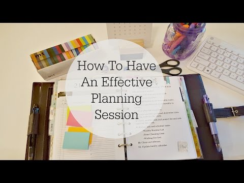 VEDA Day 21 | How To Have An Effective Planning Session
