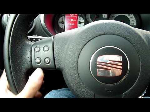SEAT LEON CARPC CAN BUS STEERING WHEEL BUTTONS.MOV