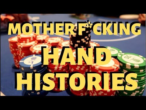 Playing poker, and talking HAND HISTORIES