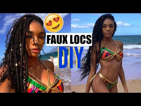HOW TO: FAUX LOCS (Dread Extensions)
