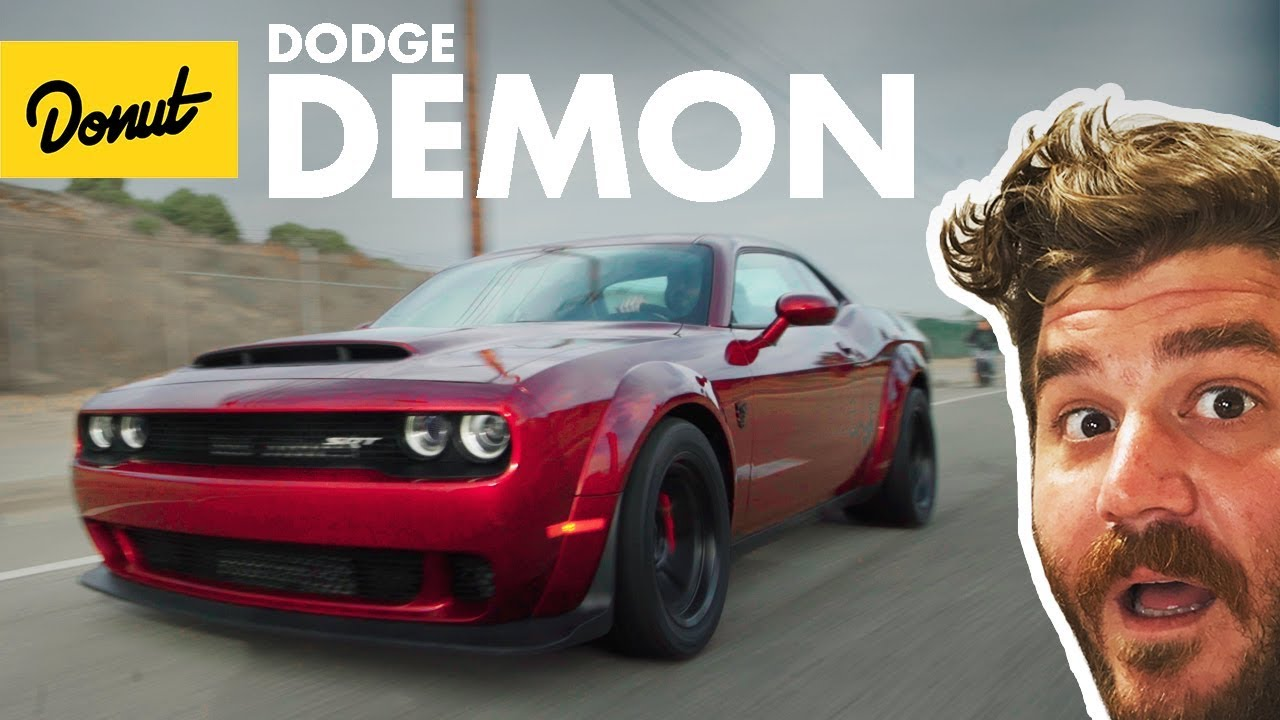 Dodge Demon - Everything You Need To Know | Up to Speed | Donut Media