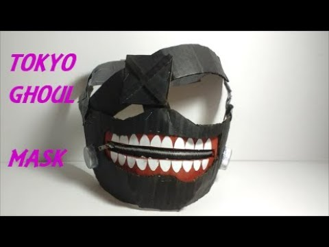 Cardboard Tokyo Ghoul Mask