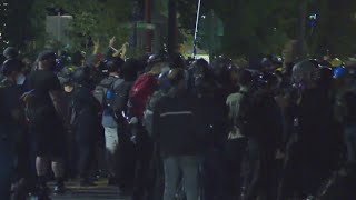 Riot declared on 46th night of protests in Portland