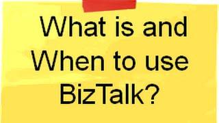 Biztalk training :- What is Biztalk and why do we need Biztalk ? ( Interview questions)