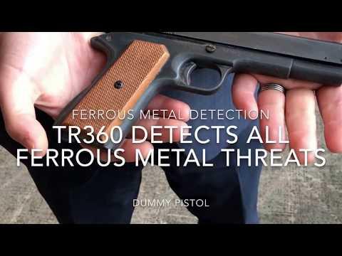 TR360 Detection Pole - Ferromagnetic detection