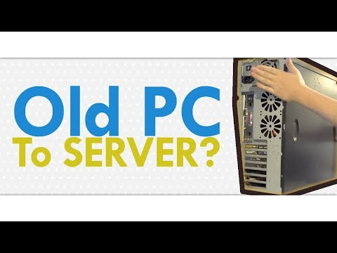 13 Year old Building Server from Old PC | iHelp
