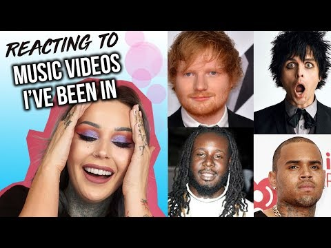 Reacting To Music Videos I've Been In!! SO EMBARASSING  | KristenLeanneStyle