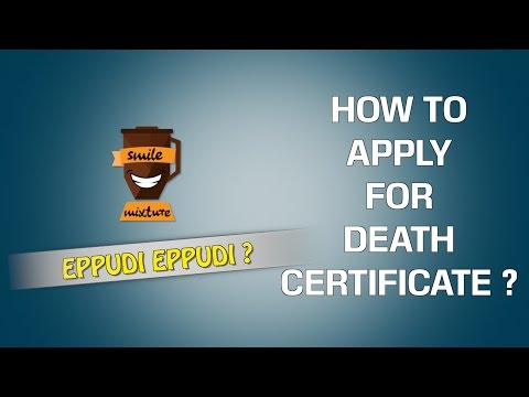 How To Apply For Death Certificate ? | Eppudi Eppudi - #19 | Smile Mixture
