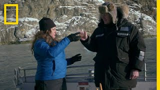 Gordon Ramsay Harvests Glacial Ice Cubes | Gordon Ramsay: Uncharted