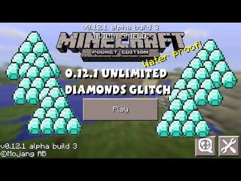 Minecraft Pocket Edition - Unlimited Diamonds Glitch 0.12.1 iPod/iPad/iPhone/Android