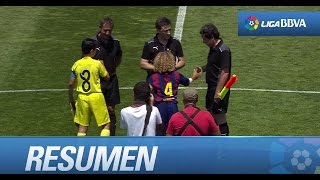 Resumen de Villarreal CF (0-3) FC Barcelona