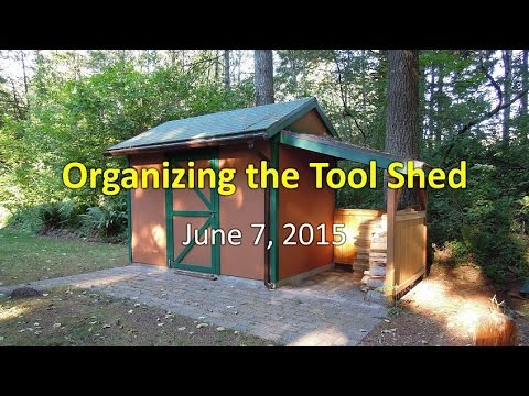 Organizing the Tool Shed