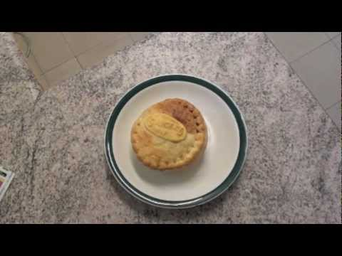 HOW TO MICROWAVE A MEAT PIE