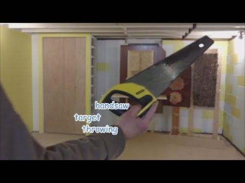 HANDSAW  target practice - demo