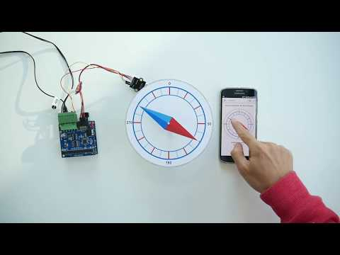 Control Position of DC Motor via Web using PID controller