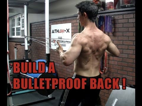 Back Exercise to build a V TAPER