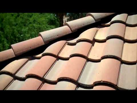 Tile Roof Home Inspection in Mesa, To walk or not to walk