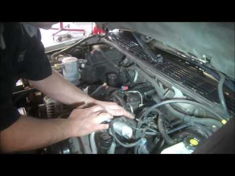 Intake manifold removal Chevrolet S10 4.3L PART 1  lower intake gasket remove, install replace