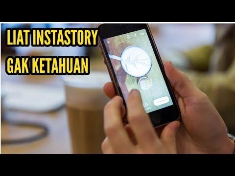Trik melihat instagram story tanpa ketahuan