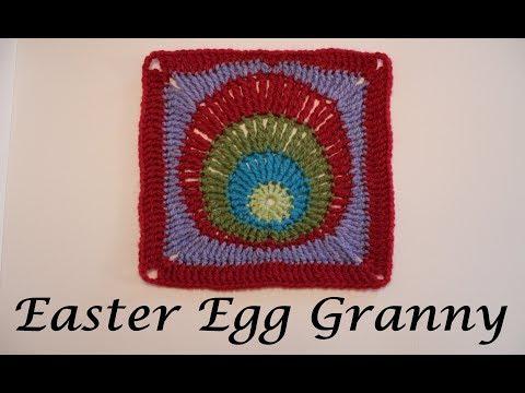 Granny Square # 11 - Easter Egg