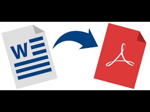 How to Convert word document or any file to PDF file without any software for free!!!