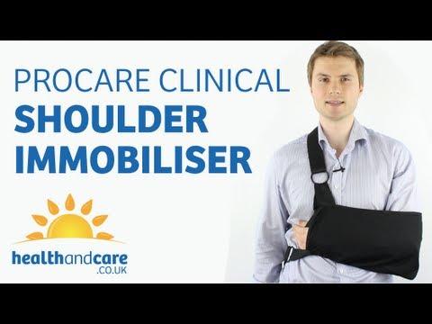 How To Put On A Sling - Procare Clinical Shoulder Immobiliser